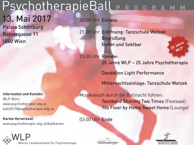 Psychotherapie Ball Programm